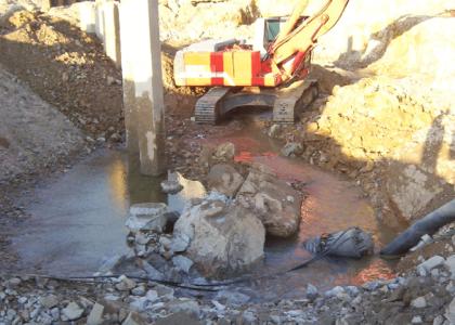 Instal·lació bombes per fangs